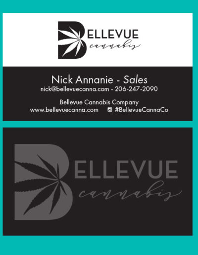 Bellevue Cannabis Business Card