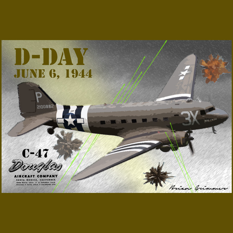 D-Day C-47