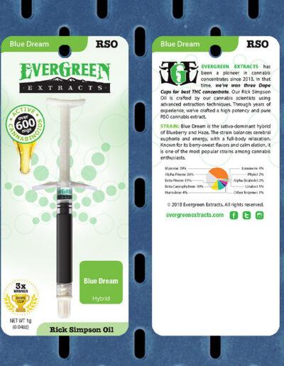 Evergreen Extracts Blue Dream RSO