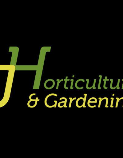 JHorticulture & Gardening Logo
