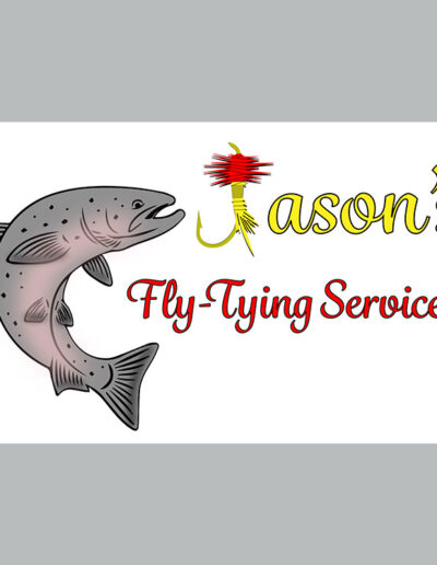 Jason's Fly Tying Service Logo