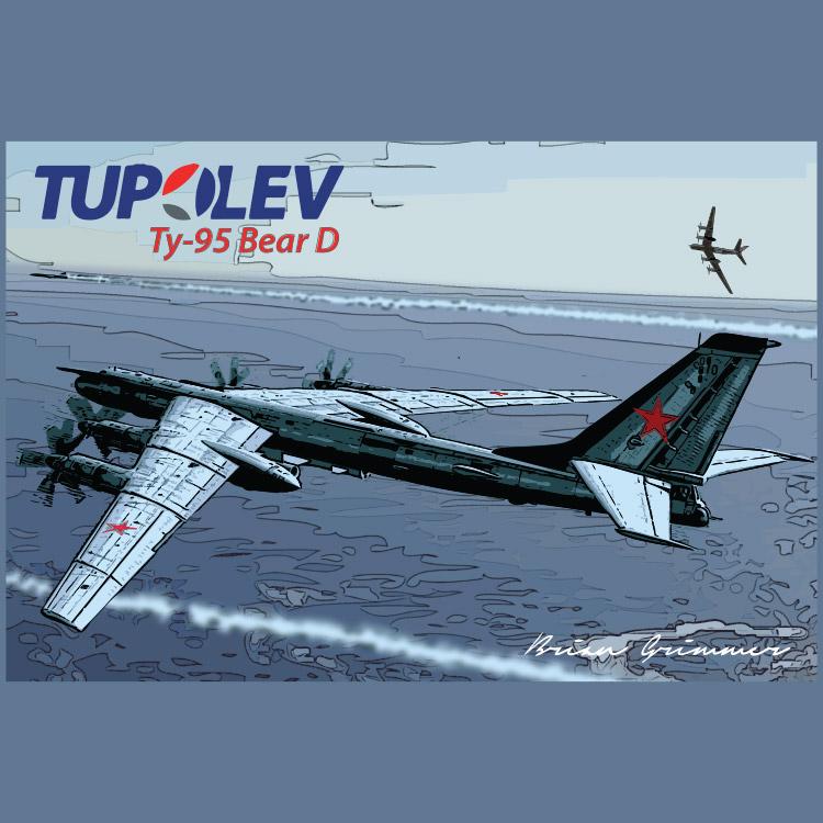Tupolev Tu-95D Bear
