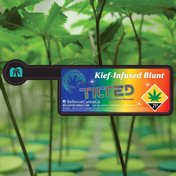 Keif-Infused Blunt Label