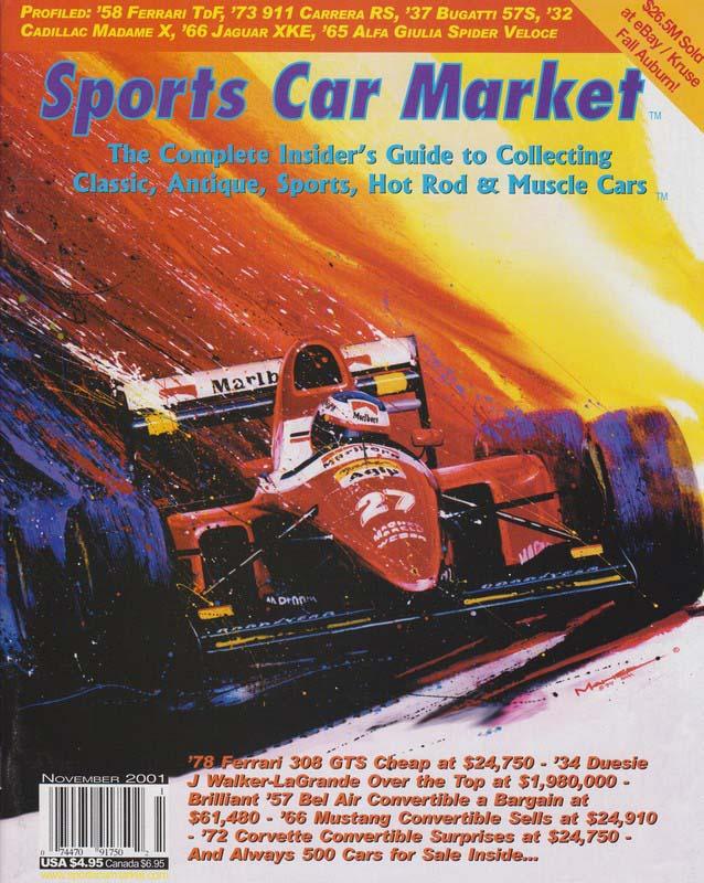Sports Car Market Magazine - 2001-11