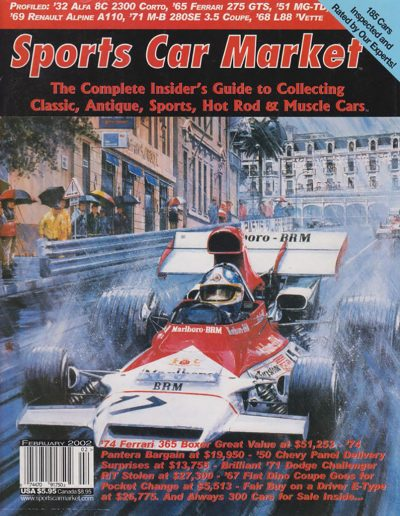 Cover for Sports Car Market Magazine - 2002-02